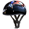 Motorcycle Helmet Half- Daytona Graphic Freedom Side
