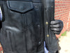 Motorcycle Vest- First Highside Leather Vest Snaps