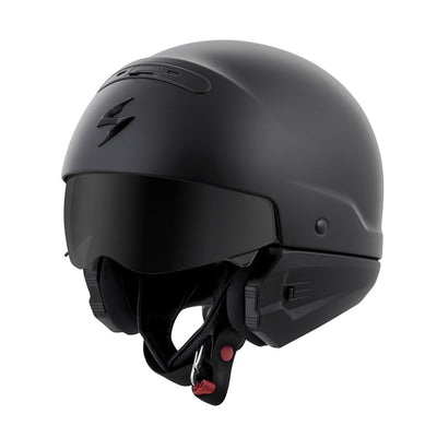 Motorcycle Helmet Full- Scorpion Exo Covert 3/4 Matte