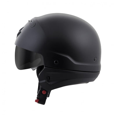 Motorcycle Helmet Full- Scorpion Exo Covert 3/4 Matte Side