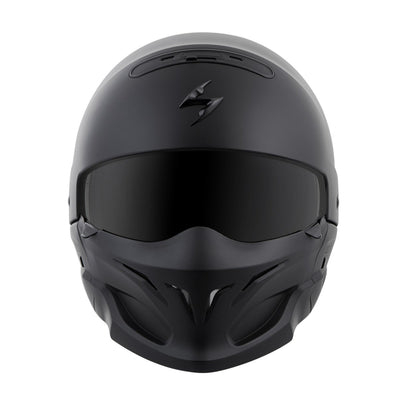 Motorcycle Helmet Full- Scorpion Exo Covert Full Matte Front