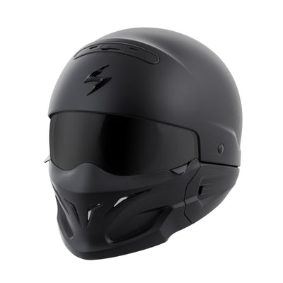 Motorcycle Helmet Full- Scorpion Exo Covert Full Matte