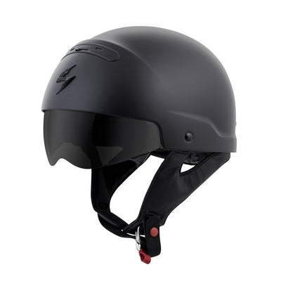 Motorcycle Helmet Full- Scorpion Exo Covert Half Matte