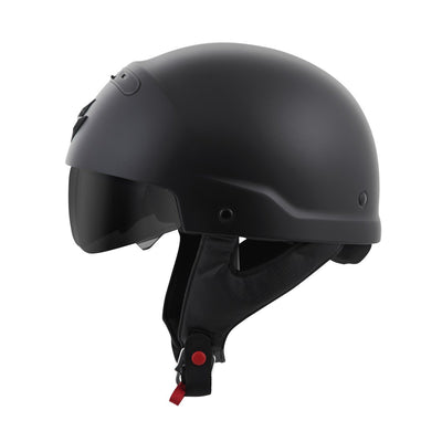 Motorcycle Helmet Full- Scorpion Exo Covert Half Matte Side