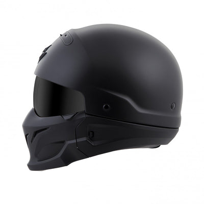 Motorcycle Helmet Full- Scorpion Exo Covert Full Matte Side