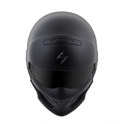 Motorcycle Helmet Full- Scorpion Exo Covert Full Matte Top