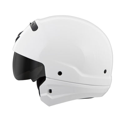 Motorcycle Helmet Full- Scorpion Exo Covert 3/4 White