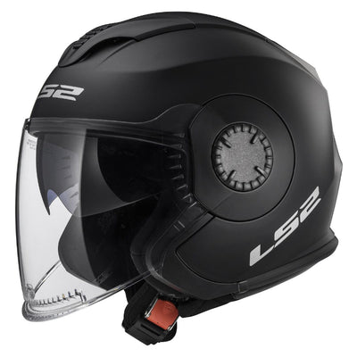 Open Face - LS2 Verso Matte Black