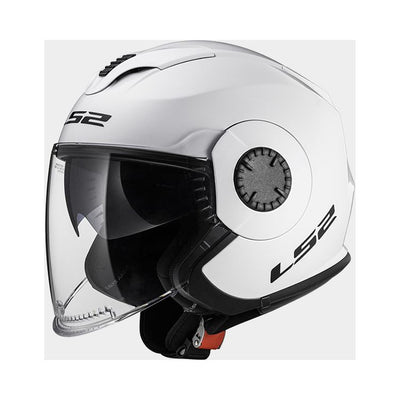 Open Face - LS2 Verso White