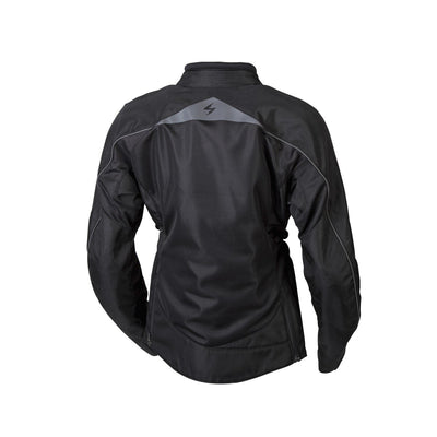 Motorcycle Jacket- Scorpion Exo Maia Women's Armored Textile Jacket Back