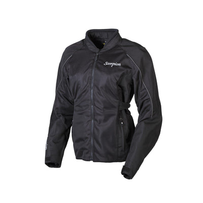 Motorcycle Jacket- Scorpion Exo Maia Women's Armored Textile Jacket Front