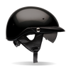 Motorcycle Helmet Half- Bell Pit Boss Gloss Black
