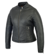 Motorcycle Jacket- Daniel Smart DS843 Lightweight Women's Leather Jacket