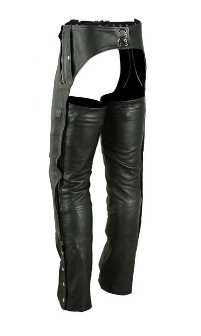 Leather Motorcycle Chaps - Renegade Classics RC476 Back
