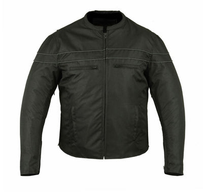 Motorcycle Jacket- Daniel Smart RC705 All Season Textile Men's Jacket Front