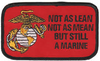 Not As Lean Not as Mean Still Marine Patch