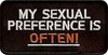 My Sexual Preference Is Often Patch