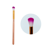 Makeup Brushes With Mini Fan and Eyeshadow brushes.