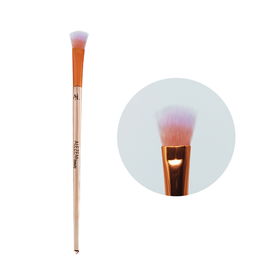 Alezem Set of 4 Eye Brushes in Rose Gold