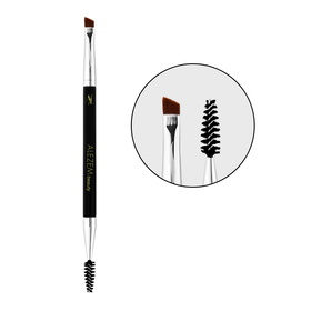 Alezem Beauty Angled Brow Brush & Spoolie