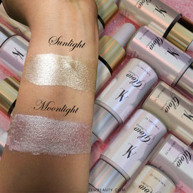 Alezem Glow Pearls, Liquid Highlighter - Moonlight