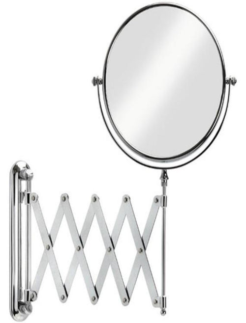 "Better Living Products Vantage 8"" Chrome Mirror with Wall Mount, 5X Magnify"