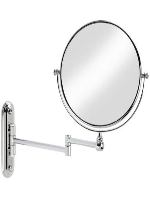 "Better Living Products Cosmo 8"" Chrome Mirror with Wall Mount, 5X Magnify"