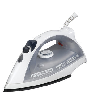 Proctor Silex Lightweight Iron,White/Grey, Model 17515-Case of  4