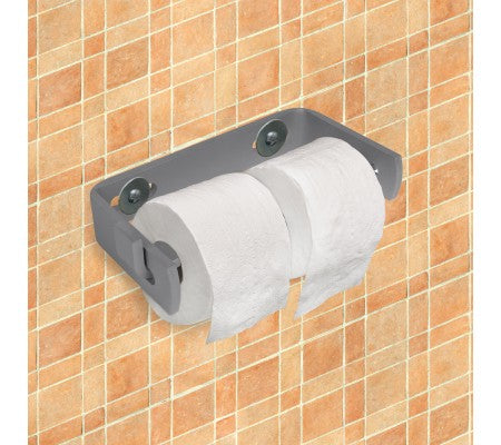 Indestructible Double Roll Toilet Tissue Dispenser-Silver Star