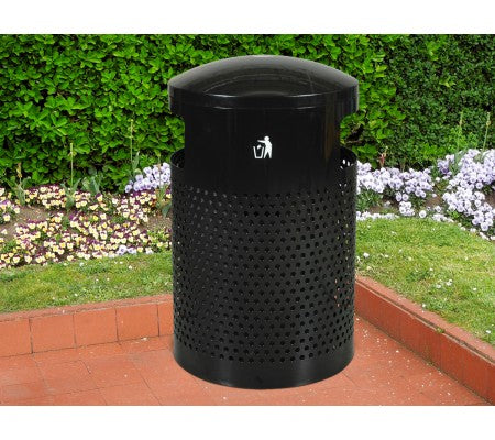 Landscape Series Large Capacity Trash Receptacle