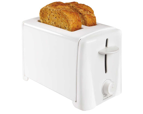 Proctor  Silex 2-Slice White Toaster, White, Model 22611-Case of  2