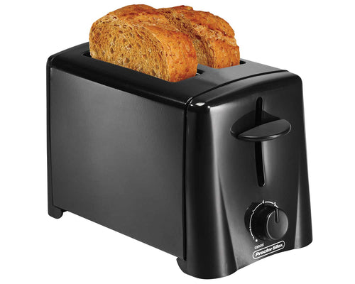 Proctor  Silex 2-Slice Toaster, Black, Model 22612-Case of  2