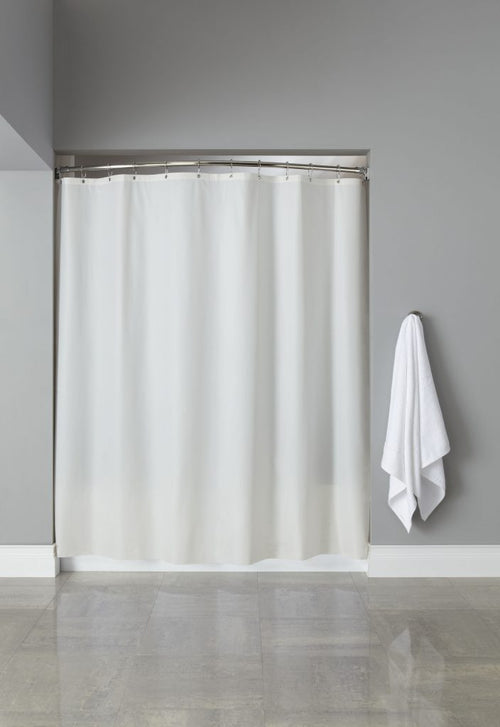 Hooked 6 GAUGE VINYL Shower Curtains - Case of 12