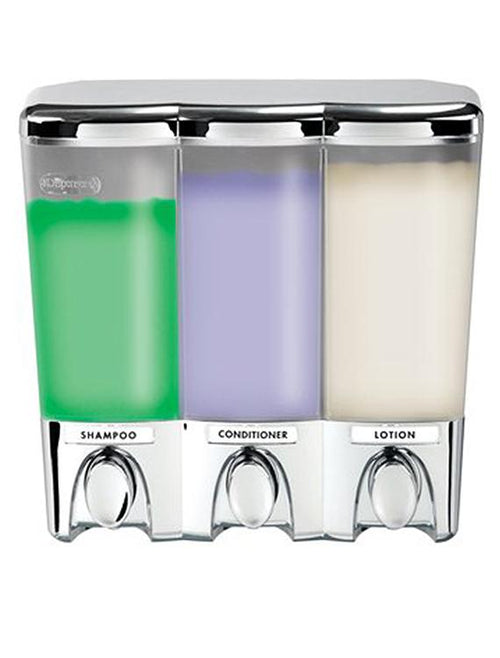 Better Living Products Clear Choice Dispenser III Chrome