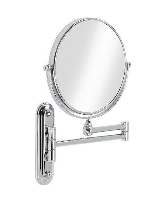 "Better Living Products Valet 8"" Chrome Mirror with Wall Mount, 5X Magnify"