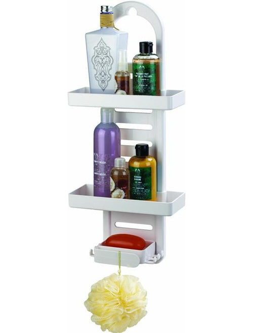 Better Living Products Ulti-Mate Shower Rack  White
