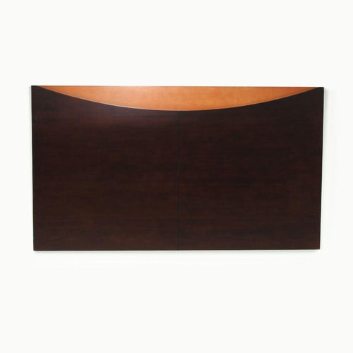Headboard, Dark Brown with Tan Accent