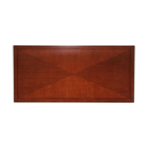 Headboard, Triangle Design, Cherry Brown