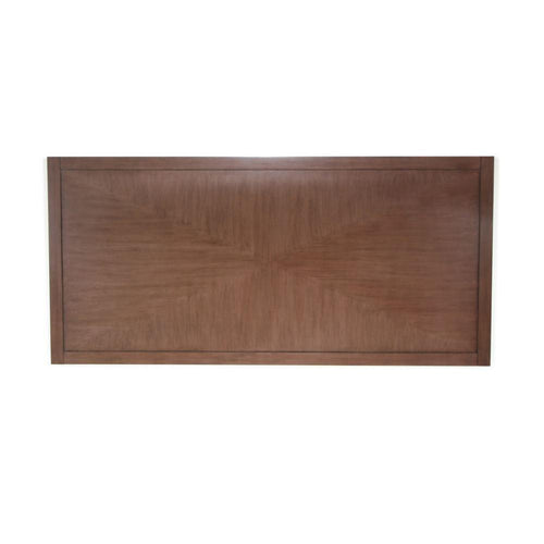 Headboard, Triangle Design, Brown
