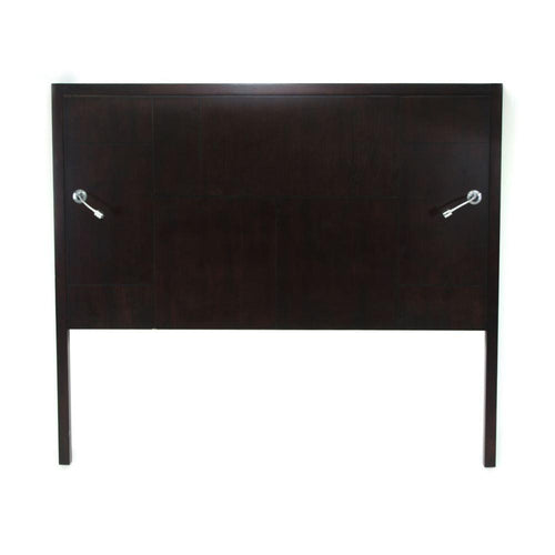 Headboard with Lights, Black