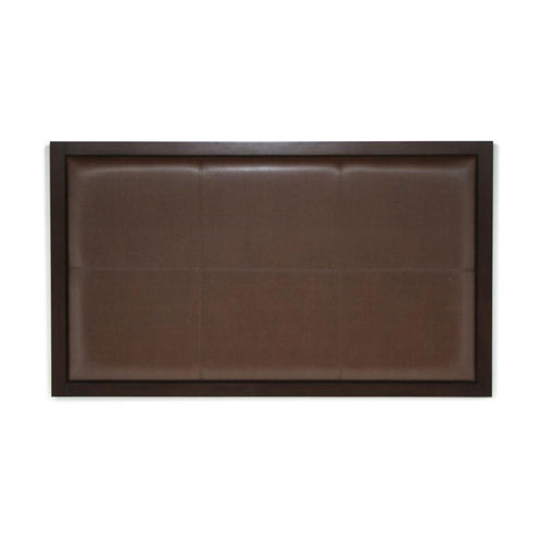 Headboard Square Design, Light and Dark Brown