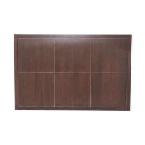 Headboard, Square Design, Brown