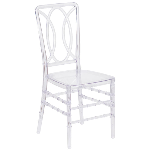 Flash Elegance Crystal Ice Stacking Chair [BH-H007-CRYSTAL-GG]
