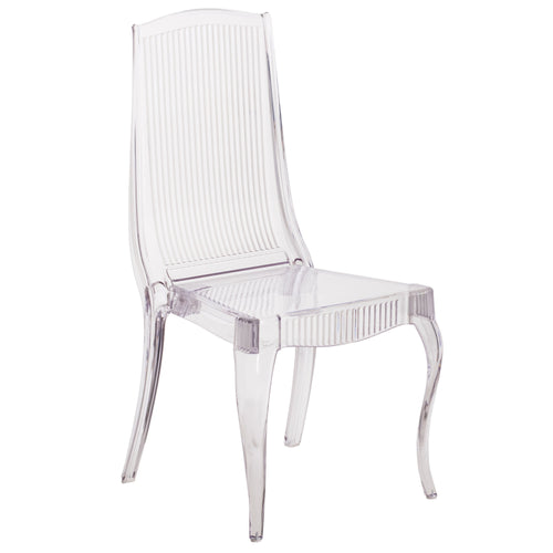Flash Elegance Crystal Ice Stacking Chair [BH-K002-CRYSTAL-GG]