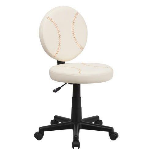 Baseball Swivel Task Chair [BT-6179-BASE-GG]