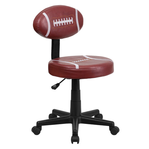 Football Swivel Task Chair [BT-6181-FOOT-GG]