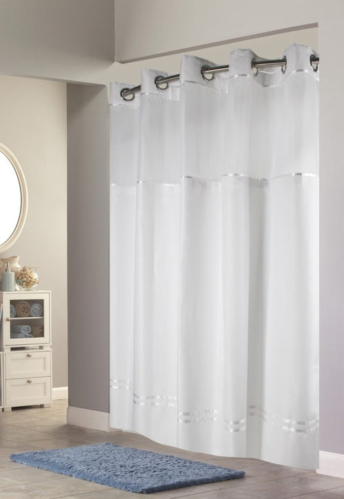 Hookless ESCAPE Fabric Shower Curtains - Case of 12