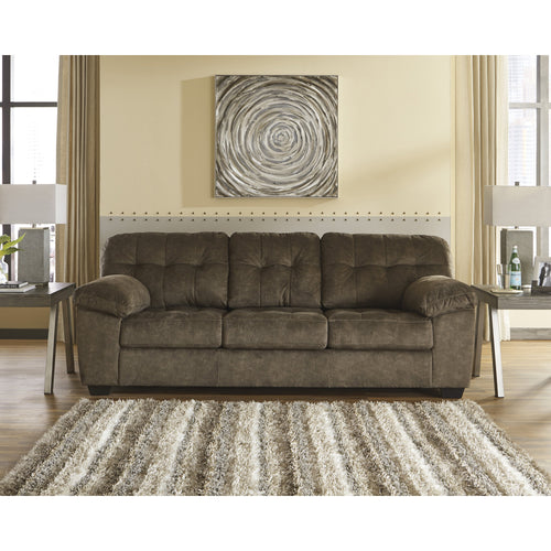 Signature Design by Ashley Accrington Sofa in Earth Microfiber [FSD-1339SO-ERT-GG]