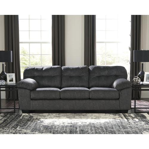 Signature Design by Ashley Accrington Sofa in Granite Microfiber [FSD-1339SO-GRT-GG]