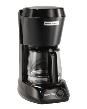 Hamilton Beach 4 Cup Hospitality Coffeemaker-Black w/Glass Carafe Model HDC500C-Case of  6